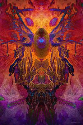 Digital Art - Stylin' by WB Johnston