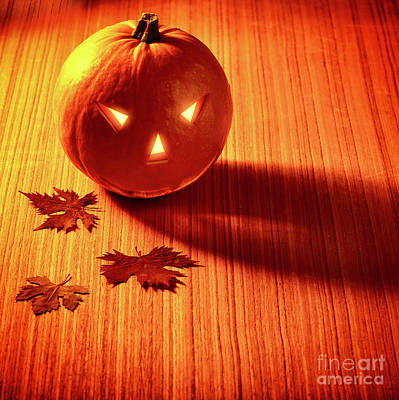 Photograph - Stylish Halloween Decoration by Anna Om