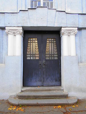 Photograph - Stylish Old Door 1 by Erika H
