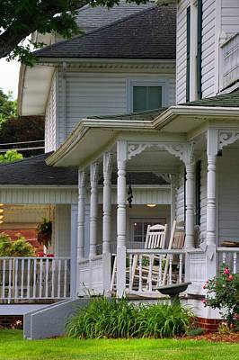 Photograph - Stylish Porch by Kathryn Meyer