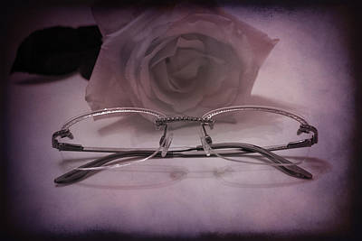 Stylish Specs Art Print by Rozalia Toth