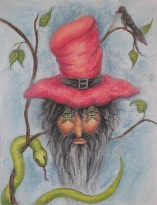 Stymie The Dwarf Art Print by Diane  DiMaria