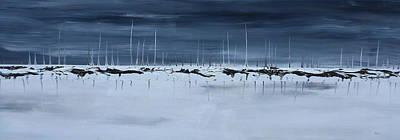 Sub Arctic Art Print by Chad Rice
