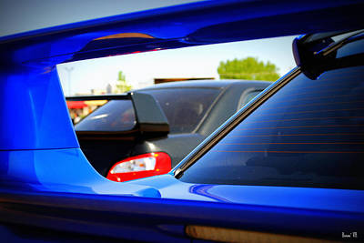 Subaru Impreza Photograph - Subaru Impreza Wrx Sti by Bonae VonHeeder