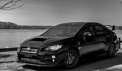 Photograph - Subaru Wrx Sti by Keith Smith