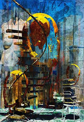 Digital Art - Subconscious by Haruo Obana