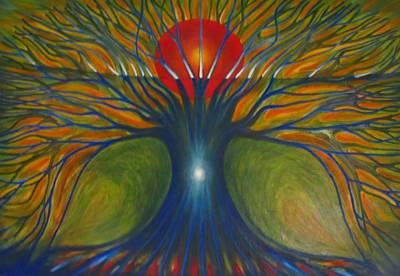 Painting - Subconscious by Wojtek Kowalski