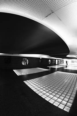 Metro Photograph - Subhuman by Paulo Abrantes