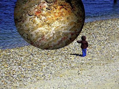 Mixed Media - Subjective Reality by Lynda Lehmann