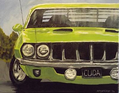 Painting - Sublime Cuda by Pamela Anderson