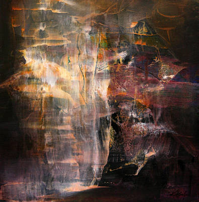 Sublime Mindscape Signed Ovidiu Kloska Diaphane Cosmic Light Escape From Visceral World Original