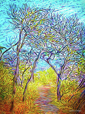 Digital Art - Sublime Pathway by Joel Bruce Wallach
