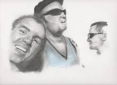Sublime Trio Art Print
