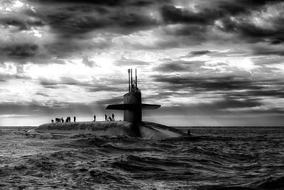 Submariner Art Print by Daniel Hagerman