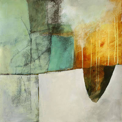 Abstracted Painting - Submerge #2 by Jane Davies