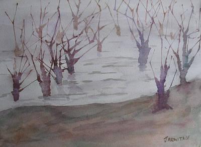 Flood Painting - Submerged II by Jenny Armitage