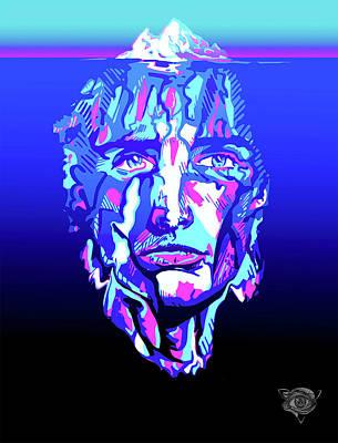 Freud Digital Art - Submerged Subconscious  by Liam Reading
