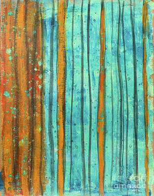 Painting - Submerged Thicket by Stefanie Forck