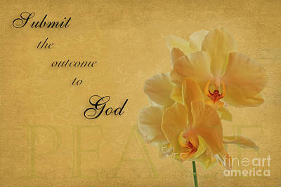 Photograph - Submit The Outcome To God by David Arment