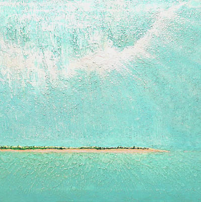 Painting - Subtle Atmosphere - Triptych 2 Of 3 by Jaison Cianelli