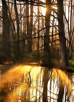 Morning Light Mixed Media - Subtle Beginnings by Dan Sproul