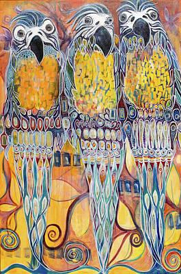 Painting - Subtle Harmony by Leela Payne