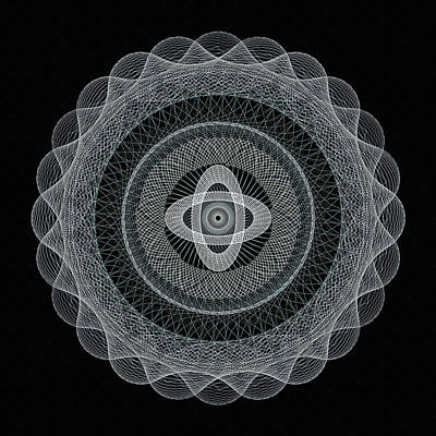 Subtle Zen Art Print by Georgiana Romanovna