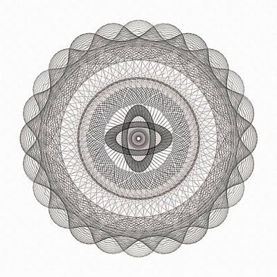 Subtle Zen Light Art Print