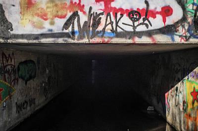 Wall Art - Photograph - Suburban Graffiti 3  by Giovanni Arroyo