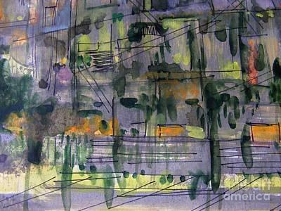 Painting - Suburbs 2 by Nancy Kane Chapman