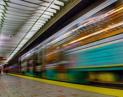 Photograph - Subway 0010 by Jeff Stallard