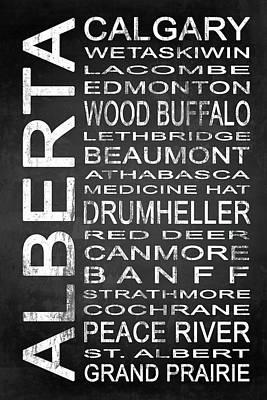 Wood Buffalo Mixed Media - Subway Alberta Canada 1 by Melissa Smith
