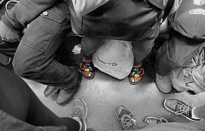 Photograph - Subway Bling by David Pantuso
