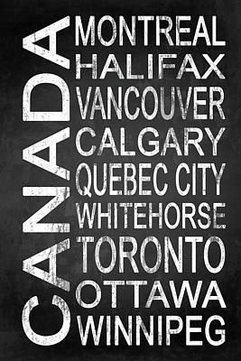 Subway Canada 2 Art Print
