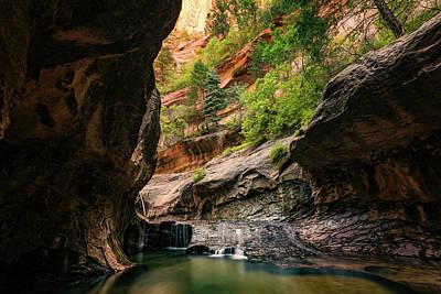 Photograph - Subway Canyon by Dave Koch