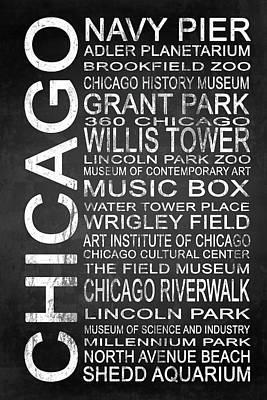 Grant Park Mixed Media - Subway Chicago 1 by Melissa Smith