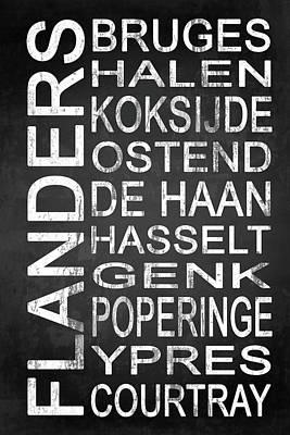 Subway Flanders Belgium 5 Art Print