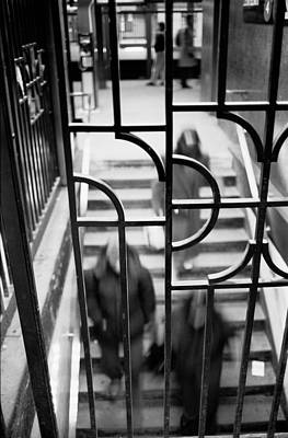 Photograph - Subway Grille by Dave Beckerman