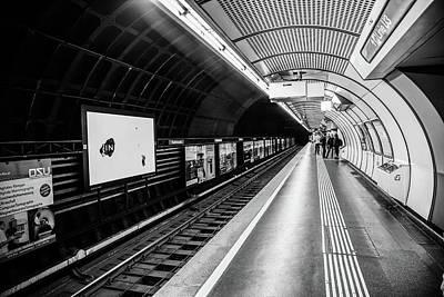 Subway In Vienna Art Print