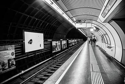 U-bahn Photograph - Subway In Vienna by Lisa Lemmons-Powers