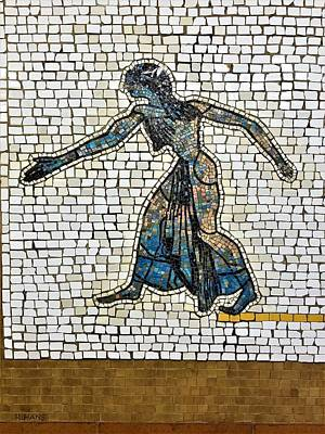 Photograph - Subway Mosaic Egyptian Women by Rob Hans