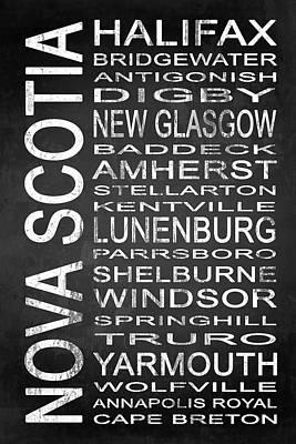 New Glasgow Digital Art - Subway Nova Scotia Canada 1 by Melissa Smith