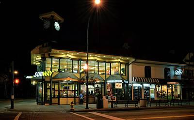 Photograph - Subway Of Gatlinburg by Greg Mimbs