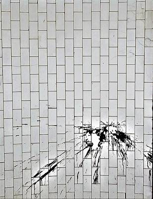 Photograph - Subway Spatter Dull by Rob Hans