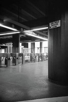 Photograph - Subway Station Rome by Nacho Vega