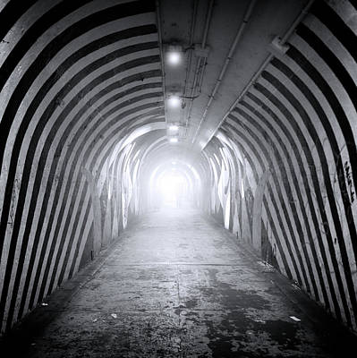 Photograph - Subway Stripes by Mark Andrew Thomas