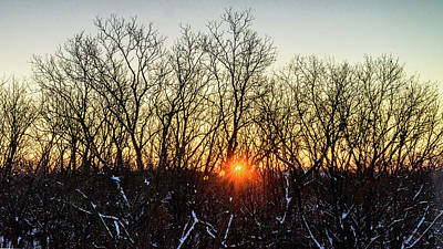 Photograph - Subzero Sunrise by Randy Scherkenbach