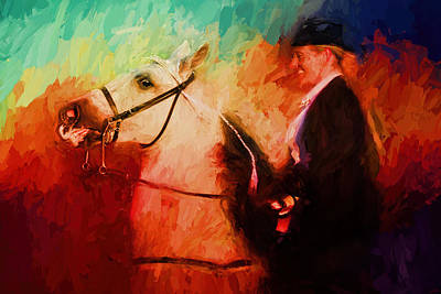Painting - Success At The Show - Bright by Jai Johnson