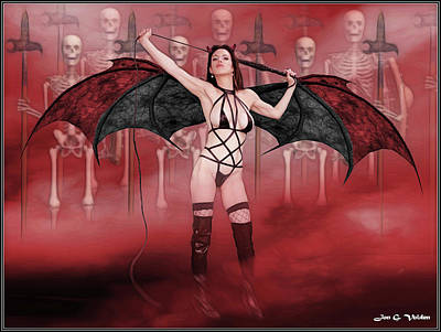 Photograph - Succubus And Army by Jon Volden
