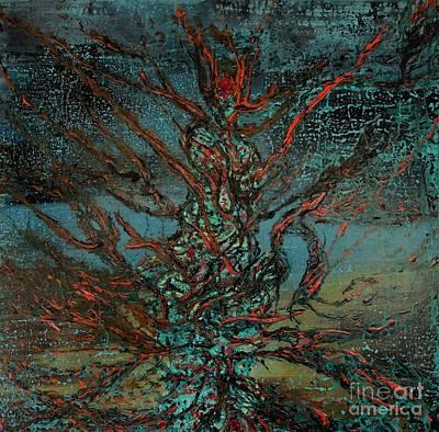 Succubus Painting - Succubus by Dennis Haugan